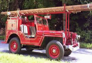 Peacham Fire Department also owns and operates a 1946 Willys Jeep CJ2A